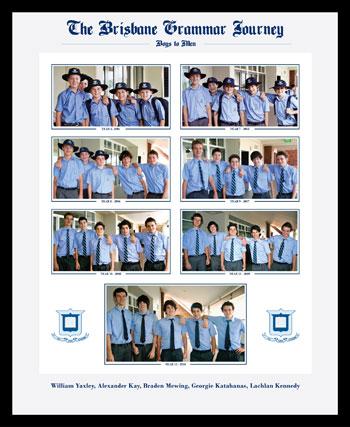 Brisbane grammar school picture frame