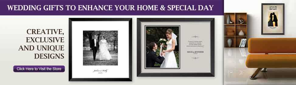Wedding photos beautifully printed and framed