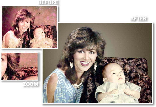 Photo restoration in Brisbane